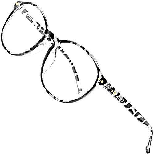 ATTCL - Gafas unisex con filtro de luz azul para bloquear el dolor de cabeza causado por la radiación UV [reducción de la carga ocular], gafas para videojuegos mármol M