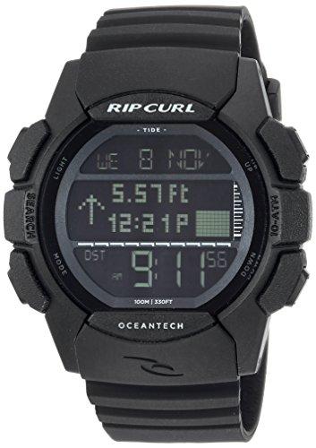 Rip Curl A1133MID1SZ - Reloj de Pulsera Hombre, Poliuretano, Color Negro