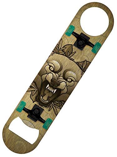 Grindstore Flaschenöffner Wolf Tattoo 'Skateboard' Bar Blade