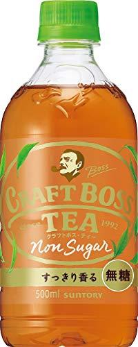 サントリー BOSS 『クラフトボス TEA ノンシュガー 500ml×24本』