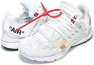 [ナイキ] エアプレスト オフホワイト THE : 10 AIR PRESTO Off-White wht/blk-cone スニーカー ホワイト [並行輸入品]