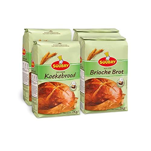 SOUBRY Brotbackmischung zum Backen für...