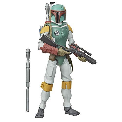 STAR WARS- E9 Figura Boba Fett (Hasbro E3811ES0)