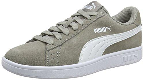 Puma Smash V2 Scape per Sport Outdoor Unisex - Adulto, Grigio (Elephant Skin-Puma White), 37 EU
