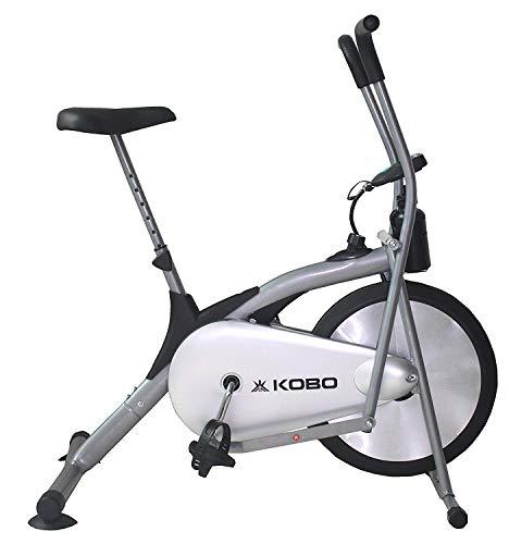 Kobo AB-1 Deluxe Air Bike with Rowing Handles