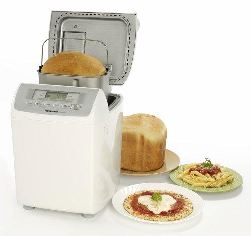 Panasonic SDRD250W Bread Maker with Raisin/Nut Dispenser, White