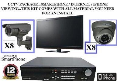 Buy Bargain TC43- Vantage VDRH16 16 Channel 1TB HDD TRIPLEX H.264 DVR & 16 Vantage 540 TVL Indoor & ...