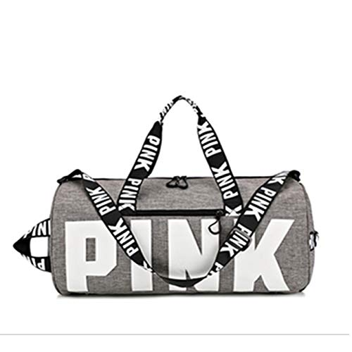 SIMEISM Unisex Women Black Travel Bag Female Fitness Training Duffle Bag For Trip Large Capacity Waterproof Gym Bag Yoga