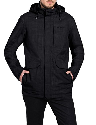 VAUDE Herren Doppeljacke Yale 3-in-1 Jacket V, Black, S, 05683