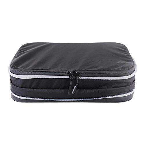 Storage Bag, Foldable Compression Storage Bag Double-Layer Compression Travel Storage Bag Portable Waterproof Nylon Folding Bag Luggage Retractable Clothing Storage Bag