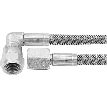 AllStar Professional 1//4in Brake Line 51in Stainless Steel