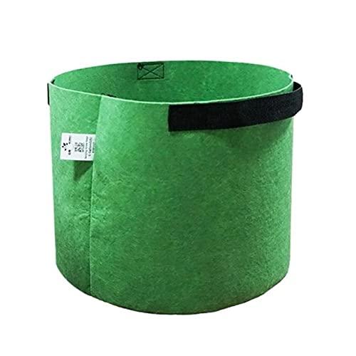 Aiong Maceta, bolsa de cultivo No tejido Fieltro Planta de jardín Bolsas de cultivo Patata de flor vegetal