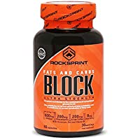 BLOQUEADOR DE GRASAS y CARBOHIDRATOS - Complemento alimenticio para adelgazar - BLOCK FATS & CARBS 60 capsulas
