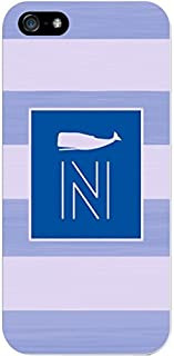 IPH5 CASE Stripes, Blue Whale- N