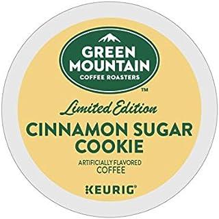 Green Mountain Coffee Roasters Cinnamon Sugar Cookie Keurig Single-Serve K-Cup Pods, Light Roast Coffee, 72 Count
