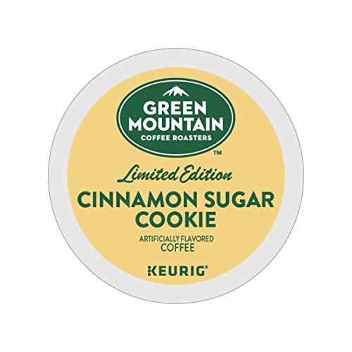 Green Mountain Coffee Roasters Cinnamon Sugar Cookie Keurig Single-Serve K-Cup Pods, Light Roast Coffee, 72 Count