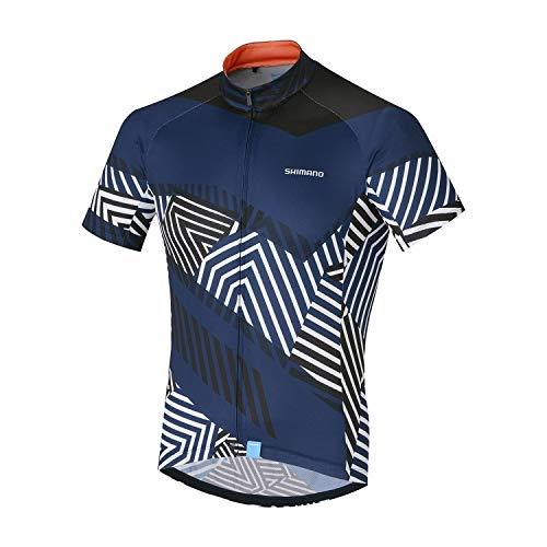 SHIMANO Maillot M/C SH Climbers Nav T Camiseta, Hombre