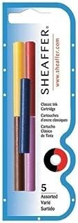 Sheaffer Refills Multicolor 5 Pack Fountain Pen Cartridge - SH-96400