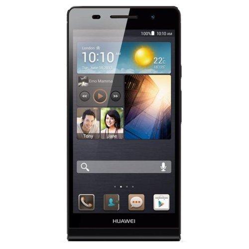 Huawei Ascend P6 - Smartphone libre Android (pantalla 4.7 pulgadas, cámara 8 Mp, 8 GB, 1.5 GHz, 1GB RAM), negro