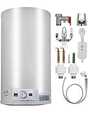 OldF Elektrische doorstroomboiler, 120 l, 3 kW, met doorstroomboiler voor gebruik in keuken of badkamer (120 l)