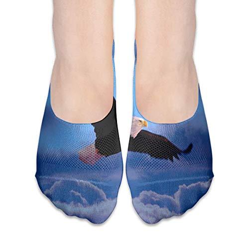 ALPHNJ Socken Persian White Cat Grass Fantastische Damen Low Cut Socken Slipper Invisible Socken für Mädchen
