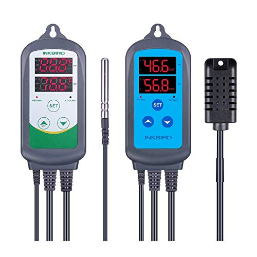 Inkbird ITC-308 Temperature Controller with IHC-200 Humidity Controller