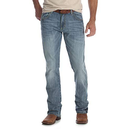 Wrangler Men's Retro Slim Fit Boot Cut Jean, Greeley, 34W x 34L