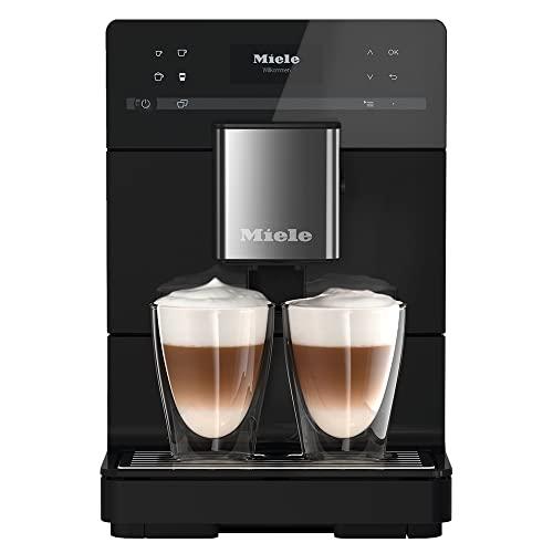 Miele CM 5310 Silence Kaffeevollautomat – Mit OneTouch for Two, AromaticSystem, Kannenfunktion, Reinigungsprogrammen u. v. m. – Obsidianschwarz