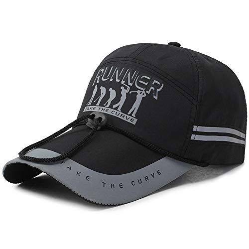 Sun Hat - Gorra de bisbol transpirable para hombre y mujer, para primavera y verano