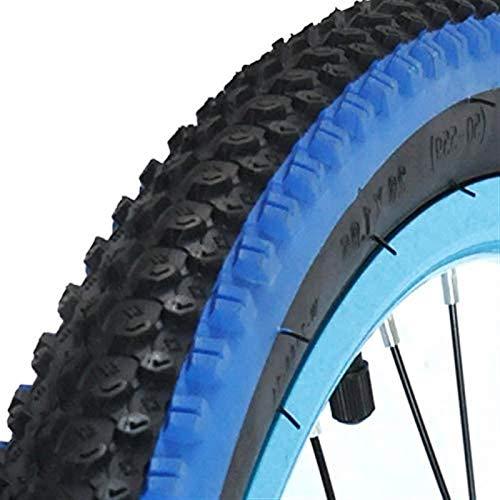 26 * 1.95 Neumático De Goma De Poliuretano 26X1.95 Ruedas De Bicicleta De Carretera De Montaña Neumáticos De Bicicleta Piezas De Ciclismo Ultraligero (Tamaño: Azul)