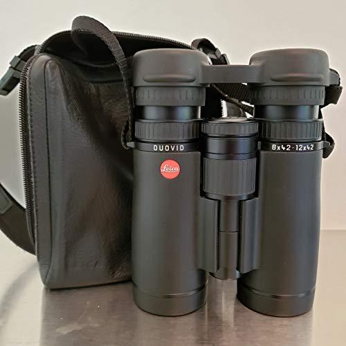 Cheapest Price! Leica 8-12x42 Duovid Binocular (Black)