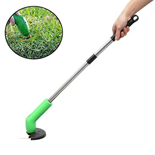 Mini Grastrimmer, Intrekbare draadloze grasmaaier Portable Garden Electric Trimmer And Edger Tuinmaaier op batterijen elektrisch Grastrimmers voor buiten