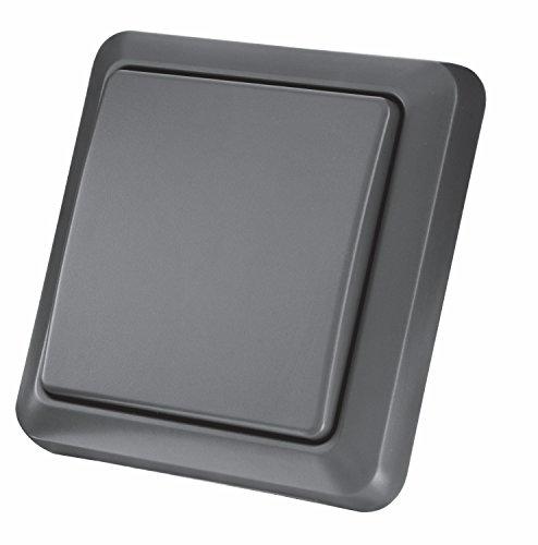 Trust Smart Home AGST-8800 - Interruptor de pared inalámbrico para exteriores, color negro
