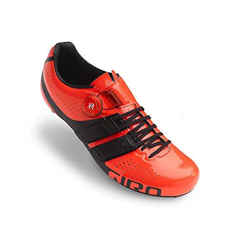 Giro Factor Techlace 17 Rennradschuhe Rot/Schwarz, 40
