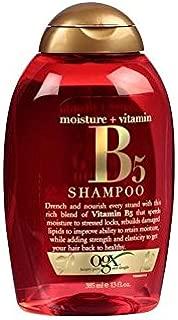 Ogx Shampoo Vitamin B5 & Moisture 13 Ounce (384ml) (3 Pack)