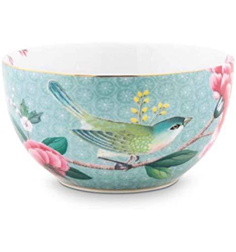 Pip Studio Schale Blushing Birds | blau - 12 cm