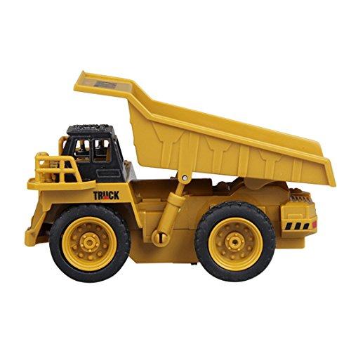 RC Auto kaufen LKW Bild 3: GUOGUO RC Truck 1:16 Mini Baustelle Spielzeug Baufahrzeuge Ferngesteuert für Kinder (Gabelstapler)*