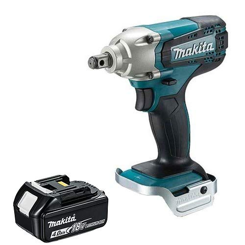 Makita DTW190Z 18V Cordless Li-Ion 1/2' Impact Wrench with 1 x 4.0Ah BL1840 Battery
