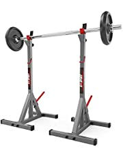 K-Sport Olympische Squat Rack Power Stands Barbell Verstelbare Druk Gewicht Thuis