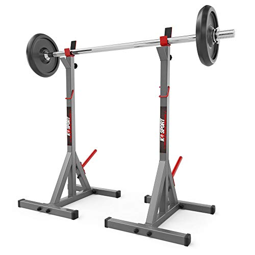 K-Sport Olympic Squat Rack Power Stands Barbell Prensa ajustable Peso Home