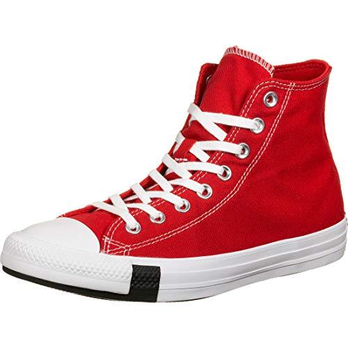 Converse Chucks CTAS HI University 166736C Red Rot, Schuhgröße:39.5