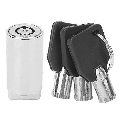 Tubular Cam Lock, cilinderslot met enkele openingsknop Tubular Cam Lock voor flipperkast Arcade Machine Deurkasten Kasten Laden Kastenautomaat
