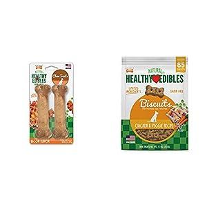 Nylabone Healthy Edibles All-Natural Long Lasting Bacon Chew Treats