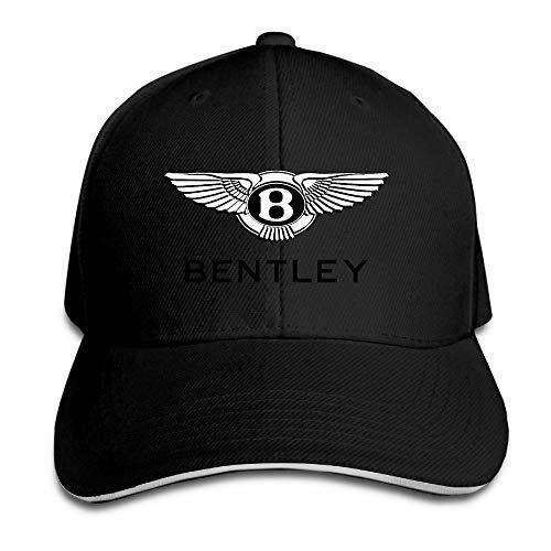 Youaini Bentley Motors Sandwich Baseball Caps for Unisex Adjustable Black