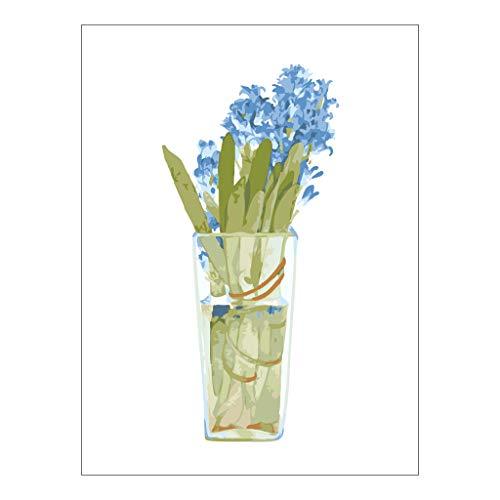 zhiwenCZW Kit de pintura por números de 40,6 x 50,8 cm, lienzo de bricolaje pintura al óleo para niños, estudiantes, adultos principiantes con pinceles y pigmento acrílico