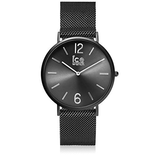 ICE-WATCH Männer Analog Quarz Uhr mit Edelstahl Armband 012698