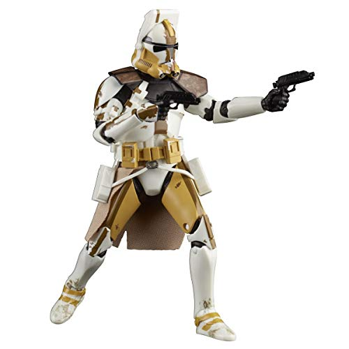 Star Wars The Black Series Klon Commander Bly 15 cm große Action-Figur zu Star Wars: The Clone Wars, Kinder ab 4 Jahren