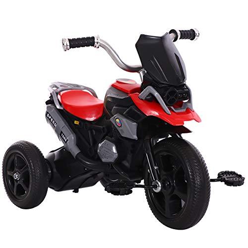 DDMD Kids driewieler gesimuleerd motorfiets uiterlijk kinderen 3 wiel pedaalfiets, voor 2-7 jaar kinderen en peuters