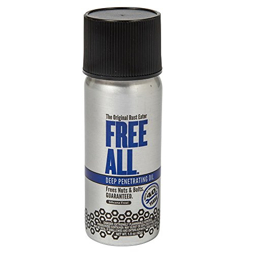 Gasoila - RE01 Free All Rust Eater Deep Penetrating Oil, 1.5 oz Aerosol Spray Can