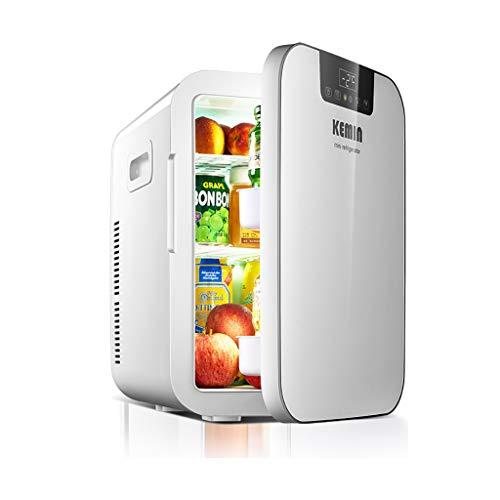 WY Autokühlschrank, 12V 20L Tragbare Auto-Mini-Kühlschränke Elektrischer Mini-Reisekühlschrank Kühlbox Multifunktions-Heimkühler Gefrierschrank Wärmer Mit Rutschfesten Fußpolstern